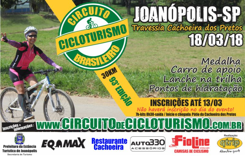 Circuito de Cicloturismo - 93ª Edição  JOANÓPOLIS-SP 0860346882b76