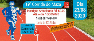 19ª CORRIDA DO MAZA 10 KM DE CAJAMAR